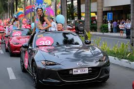 mazda official website the beauty queens u0027 roadster of choice mazda philippines u2013 get