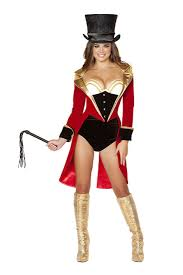halloween costume devil woman 5 pc naugthy ring leader costume