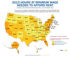 least expensive state to live in you d have to work every waking hour to afford a 2 bedroom at