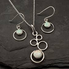 opal earring necklace set images Jewelry sets artulia jewelry jpg