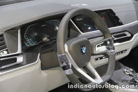 bmw concept bmw concept x7 iperformance steering wheel instrument at iaa 2017