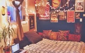 bedroom boho dorm room ideas wall coverings home