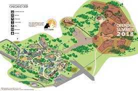 map of oakland oakland zoo map