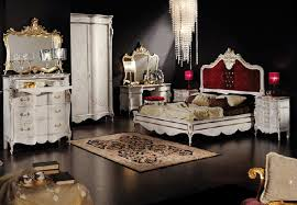 Black And White Bedrooms White Fashionable Bedroom Design Ideas With Classic Beds Style