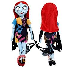 nightmare before sally plush doll backpack
