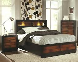 black queen bed with bookcase headboard size white storage