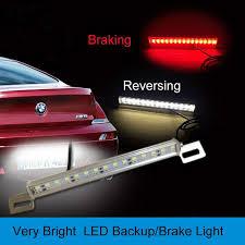 led backup light bar 2 in1 brake lights reverse lights car led light bar stop backup