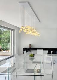 Modern Chandeliers For Dining Room Orchids Chandelier By Galilee Lighting Contemporary Dining Room