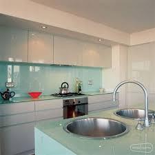 Solid Glass Backsplash Best Kitchen Places - Solid glass backsplash