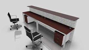 L Shaped Contemporary Desk Office Desk Office Desk For Two Two Desks In One Office 2 Person