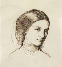 sketch of a woman u201d by charles allston collins