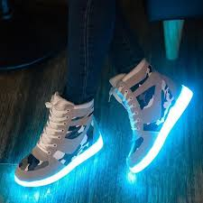led lights shoes nike women colorful glowing shoes with lights up led luminous shoes