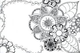 photo pages 4x6 tarkheena crafts flower coloring pages