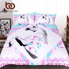 aliexpress com buy beddingoutlet 3d unicorn bedding set king