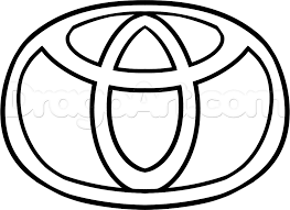 toyota logo how to draw the toyota logo step by step symbols pop culture