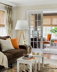 Roman Shade With Curtains The What When And Why Of Window Treatments Elements Of Style Blog
