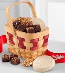 mrs fields gift baskets mrs fields sweet and simple basket c570 baskets