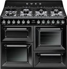 Smeg 110 Gloss Black Induction Smeg 110cm Dual Fuel Range Cooker Hanson Electrical