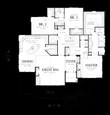 Floor Plans For Sloped Lots Mascord House Plan 1328 The Gibson