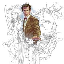 doctor who travels in time coloring book price stern sloan