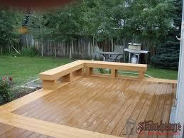 composite benches deck benches u2022 the best fences u0026 decks in utah