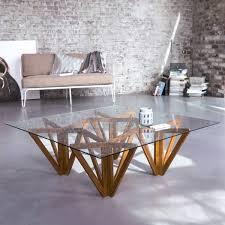 tikamoon mona teak coffee table 100x100