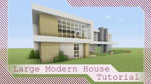 large modern house tutorial 1 minecraft xbox playstation pe pc