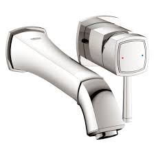Grohe Bridgeford Kitchen Faucet Grohe Bathroom Sink Faucets Wall Mounted The Somerville Bath