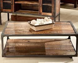 table round industrial coffee table gratifying ballard designs