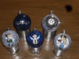 5 pack supernatural ornaments on etsy 20 00