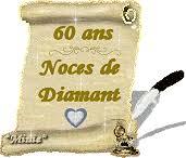 60 ans de mariage noces de gifs 60 ans de mariage animes images noces de diamant