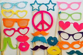 printable hippie photo booth props how to make 80 s photo booth props google search 80 s theme
