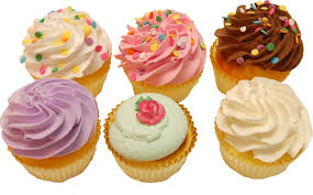 fake cupcakes 6 pack assortment fake cupcake decorcentral com
