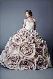 brautkleider ausgefallen ausgefallene brautkleider haute couture hochzeitskleide altrosa