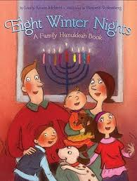 hanukkah book eight winter nights a family hanukkah book by krauss melmed