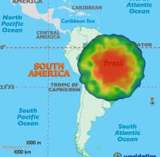 Map Of Central America And South America Gegen Algerien War Thomas Müllers Slapstick Freistoß Absicht Welt