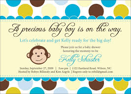 free printable monkey baby shower invitations baby shower for