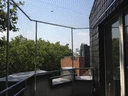 katzennetz für balkon in düsseldorf angebracht katzennetze nrw - Katzennetze Balkon