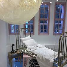 hanging bed frame picture of stylenanda pink hotel flagship