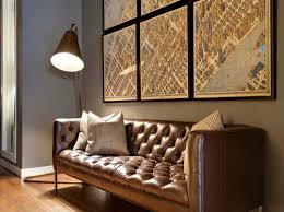 Mid Century Modern Leather Sofa Interior 20 Mid Century Modern Floor Ls Living Room With Brown