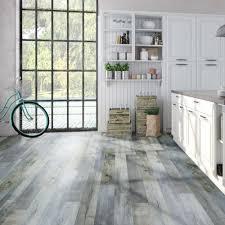 Laminate Flooring Underlay B Q Light Blue Aged Pine Effect Waterproof Luxury Vinyl Click Flooring