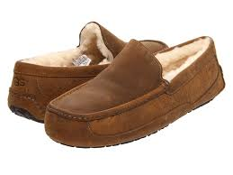 ugg ascot slippers on sale discount ugg us ascot chestnut leather slippers for winter
