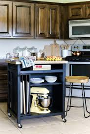 kitchen trolley ideas best 25 rolling kitchen cart ideas on kitchen trolley island