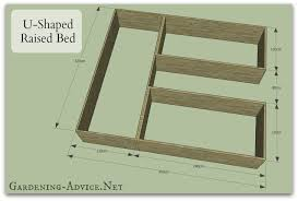 brilliant raised garden blueprints raised bed vegetable garden