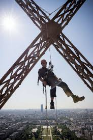 the eiffel tower gets a new glass floor photos the big picture