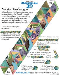 free printable monsters 3d activity sheets kids mama dweeb