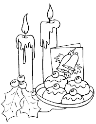 christmas candles coloring 12 coloring pages