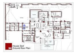architects home plans ground floor plan courtesy nico der meulen architects