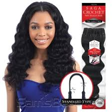 what hair to use for crochet braids saga human hair crochet braids pre loop type loose deep samsbeauty