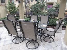Swivel Wicker Patio Furniture - patio 47 south western style patio swivel wicker patio chairs